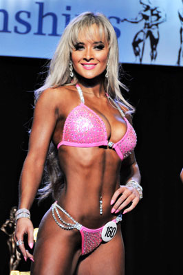 Best gym in Reno sponsors Bikini Competitor