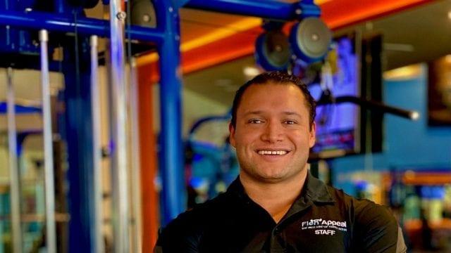 Reno personal trainer Ramon Gimes